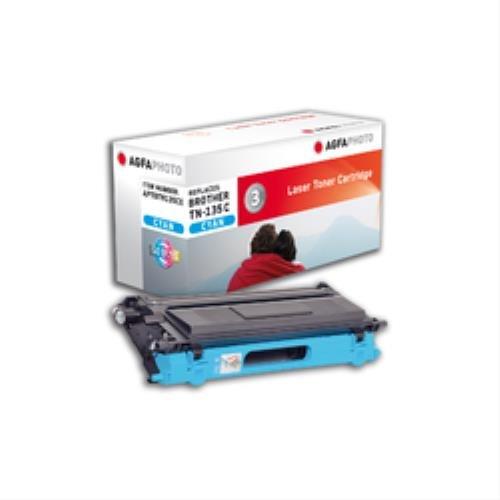 Preisvergleich Produktbild AgfaPhoto APTBTN135CE Toner für Brother DCP9040CN, 4000 Seiten, cyan