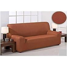 Dabuty Online, S.L. Funda para sofa elastica tres plazas Color Naranja. De 170 a 260 cm