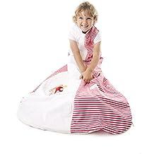 Sacco a pelo estivo per bambini - autopompa - disponibile in 5 misure
