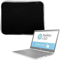 """DURAGADGET Housse de Protection en néoprène pour HP Pavilion X360 14-cd0001nf Ultrabook FHD/Pavilion x360 11-k108nf et HP Envy x2 11,6"""" Ordinateur/PC Portable 2-en-1 11"""", résistant à l'eau - Noir"""