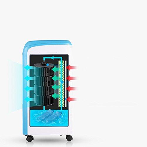 L@LILI Ventilador de Aire Acondicionado Compacto portátil Bladeless silencioso para Oficina Dorm...