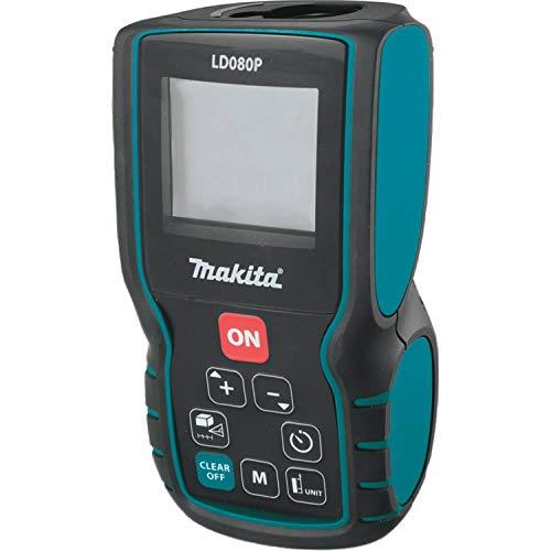 Makita LD080P  Professioneller Laser - Distanzmessgerät, ± 1.5 mm, IP54 - geschützt