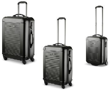 Trolley-Koffer-Set, 3-tlg. XXL-Light, TSA, Ital. Design, wahlweise in 4 Farben