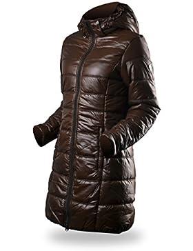 elegir la mujer chaqueta Viola Marrón marrón oscuro Talla:extra-large