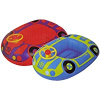 Baby Barca hinchable kinderboot Natación Boot Auto 2 Varios. Colores a Elegir flotador just4baby