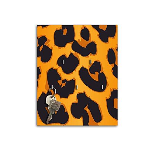 Plaque à clés avec crochets Design Leopard Print Board Clé sb654