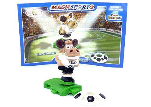 Kinder Überraschung Elmo Elchmeter mit Deutschen BPZ und Ball (Magic Sport 2)
