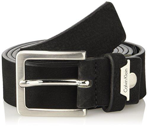 Calvin Klein Basic Adjustable, Cintura Uomo, Nero (001), 115 (Taglia Produttore)