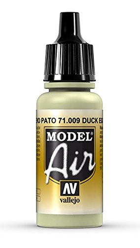 Vallejo Model Air Acrylfarbe, 17 ml Duck Egg - Games Egg Golden