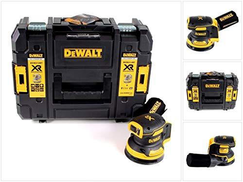 DeWALT DCW210NT-XJ - Levigatrice orbitale a batteria, 18 V), nero/giallo.