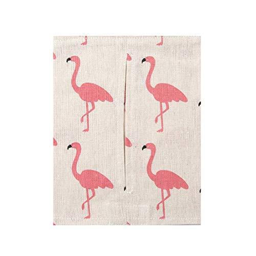 Anglayif Kreative Gewebe Tissue Box Wohnzimmer Familie Auto Papierhalter Cute Bad Tissue Box (Color : Beige Ostrich) -