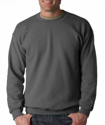 Gildan Men's Heavy Blend Crewneck Sweatshirt - Small - Charcoal -