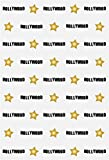 YongFoto 1x1,5m Polyester Foto Hintergrund Hollywood und Gold Star Textur Fotografie Hintergrund für Fotoshooting Portraitfotos Party Kinder Hochzeit Fotostudio Requisiten