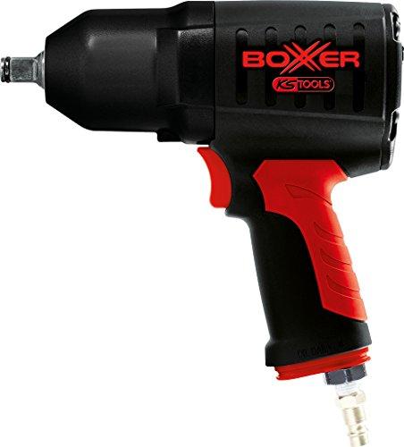 """KS Tools 515.1195 1/2\"""" BOXXER Hochleistungs-Druckluft-Schlagschrauber, Druckluft-Schlagschrauber / Schlagschrauber 1290 Nm, mit rutschfester Handgriff, Umschalthebel, lange Lebensdauer"""