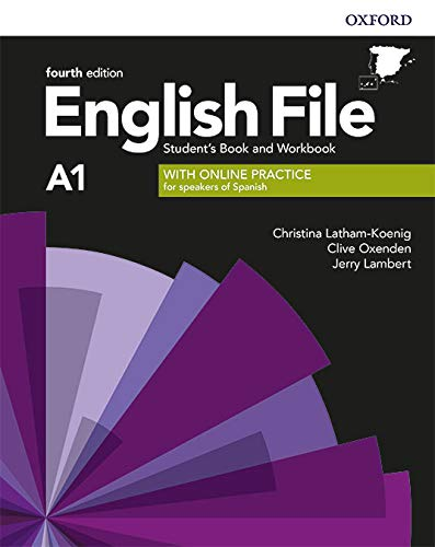 English File 4th Edition A1. Student's Book and Workbook without Key Pack (English File Fourth Edition)