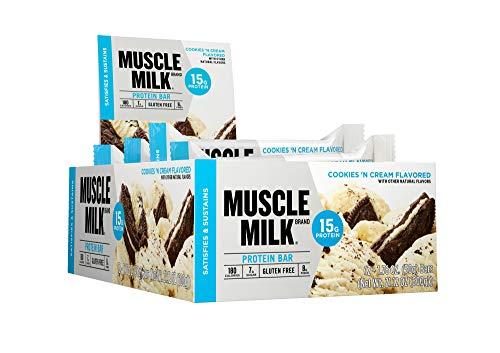 CytoSport Muscle Milk Blue Bar (12x50g) Cookies & Creme er Pack(x 600 grams)
