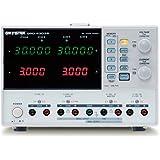 GW Instek GPD-4303S - Fuente de alimentación de corriente continua lineal (programable, cuádruple toma de salida, 30 V CC, 3 amp, 1 mV, resolución 1 miliamp, 200 W)