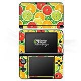 DeinDesign Nintendo 3 DS XL Case Skin Sticker aus Vinyl-Folie Aufkleber Zitrone Sommer Trend Orange