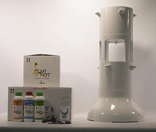HIDRO TOWER- MyPot- ORTO VERTICALE IDROPONICO. Il modo intelligente di fare giardinaggio.