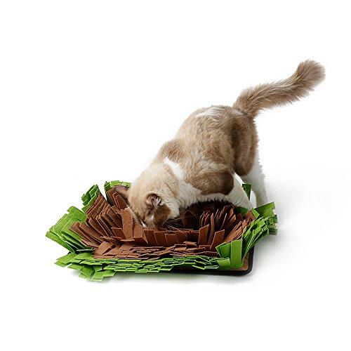 HongYH Dog Snuffle Mat - Alfombra de alimentación para Perros - Cat...