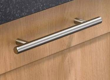 Brushed Nickel T Bar Handle - T Bar Handles - Various Sizes - Free P&P