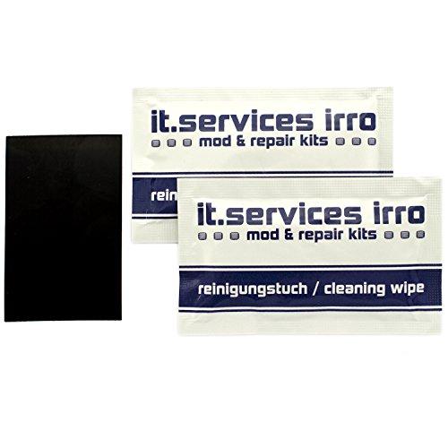 IT-Services Irro 70x45mm DIY Glides/Mausgleiter zum selbst zuschneiden - universell passend, inkl. 2 Reinigungspads - Fuß-glider