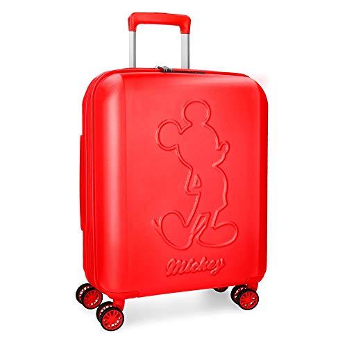 Disney Mickey Premium Valigia per bambini, 55 cm, 38 liters, Rosso (Rojo)