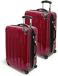 XAVION Reisekoffer / Trolley im Set oder Einzeln, Gr. M-XXL, 57-87cm, 40-140 L