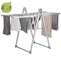 Maxi Dry 200W Electric Clothes Airer, Compact & Portable Drying Rack, Dimensions L133.5 x W65.8 x H100.5cm