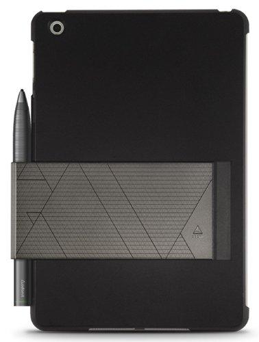 Adonit ADJTMMR Jot Tote Stylus Carrier einzigartige Retinahülle für Apple iPad mini 2 (Retina) und iPad mini 3 mit Stylus Halter schwarz (Adonit Stylus Touch)