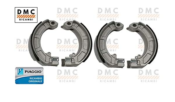 Complete brake jaw kit front and rear Vespa PX 125 150 200 original Piaggio 647377