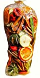 Christmas Fragrance Scented Pot Pourri Gift Bag (350g): Dried Fruits, Chillies and Bay Leaves