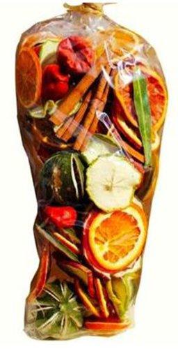 Avena Christmas Weihnachten Duft Potpourri Geschenk Tüte (350g): GETROCKNETE Früchte, Chilis und Lorbeerblätter -