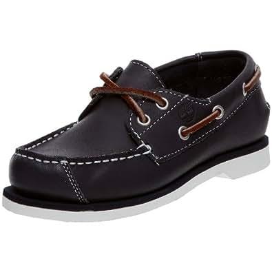 Timberland Boat Shoes FTK Peaks Island 2 Eye 85738 Jungen Bootschuhe, Blau (Navy Smooth), Gr. 33 EU (US 1.5)