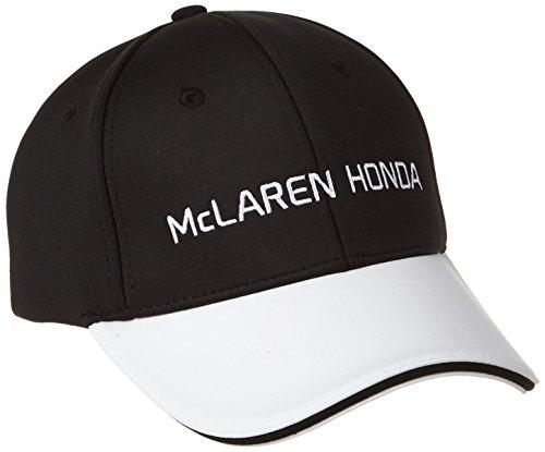 McLaren F1Hombre Honda Official Team Cap, Hombre, Color Negro/Blanco