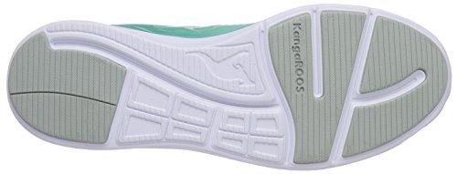 KangaROOS K- Light 8003, Unisex-Erwachsene Sneakers Türkis (lt turquoise/white 880)