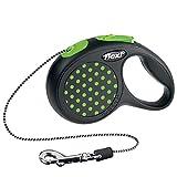 flexi . Roll-Leine Design, Seil 3 m, für Hunde bis Maximal 8 kg, XS, grün