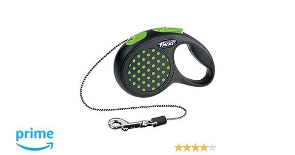 Flexi Design Cordon pour Chien Vert 3 m Taille XS  Amazon.fr  Animalerie ac8aff1ac02