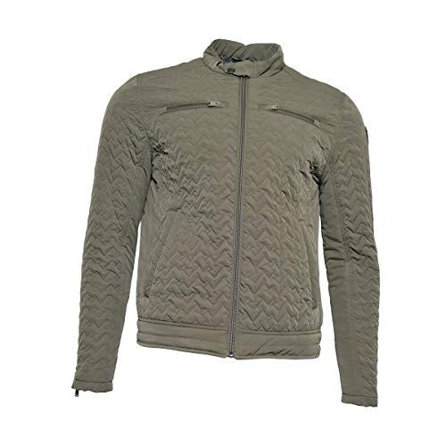 Vanguard Herren Steppjacke Übergangsjacke Daunenjacke Jacke für Männer, Größe:M, Farbe:Grün