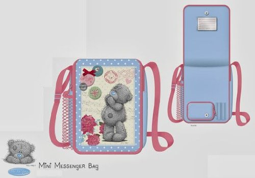 Me To You Tatty Teddy Bon Voyage Mini Messenger Bag