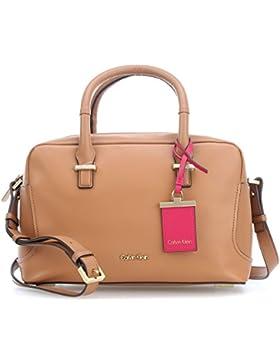 Calvin Klein C4rolyn Duffle Handtasche Leder 29 cm