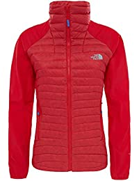 The North Face W Verto Micro Chaqueta, Mujer, Rojo (High Risk Red), S