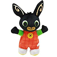 The new Bing Bunny rabbit soldier plush toy custom English cartoon doll Christmas toys (Orange)