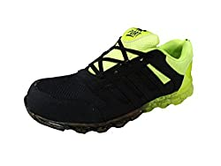Port sports Pu Black Walking Shoes (9)