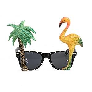 Kicode-Flamenco-y-palmera-Gafas-de-sol-hawaianas-Gafas-tropicales-Decoraciones-navideas-Fiesta-en-la-playa-Para-adolescentes-adultos-Fiesta-de-verano