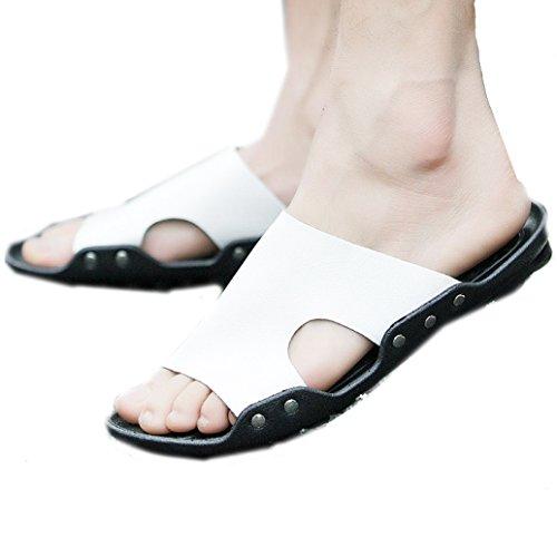 Footaction Femmes / Hommes Sandales Plates Orteil Clip Chaussures Été Bascule Flip T-strap Chaussures Chics 37 Plage De Sable Blanc magasin de vente dernières collections q0FHGAyk