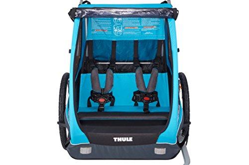 Thule Coaster XT Fahrradanhänger blue 2017 Kinderanhänger - 3