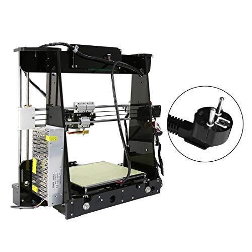 Formulaone ANET A8 3D Drucker Hochpräzise LCD Display Acryl Rahmen Aluminium Hotbed DIY 3D Druckmaschine Kit mit 10 mt Filament