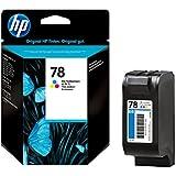 HP C6578A - Cartucho de tinta HP 78XL de alta capacidad (amarillo, cian, magenta)