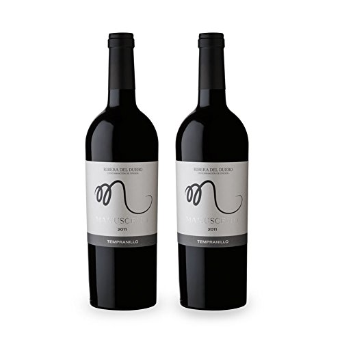 Vinos Manuscrito Pack 2 Botellas - Tempranillo 100% - Do Ribera Del Duero